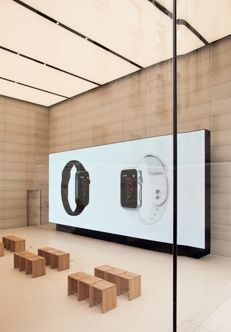 Apple store in Belgium by Jonathan Ive.