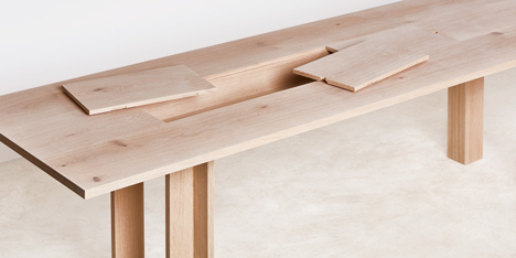 Planks by Max Lamb for Benchmark.