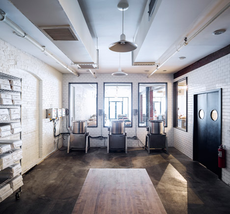Mast Brothers store in Brooklyn.