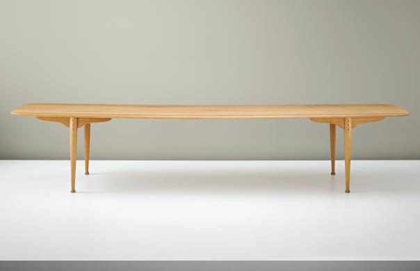 Dining table by Peder Moos.