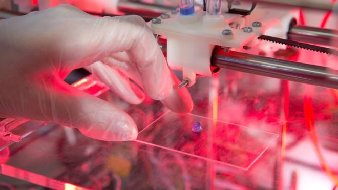 Bioprinting, image by McAteer Photograph.