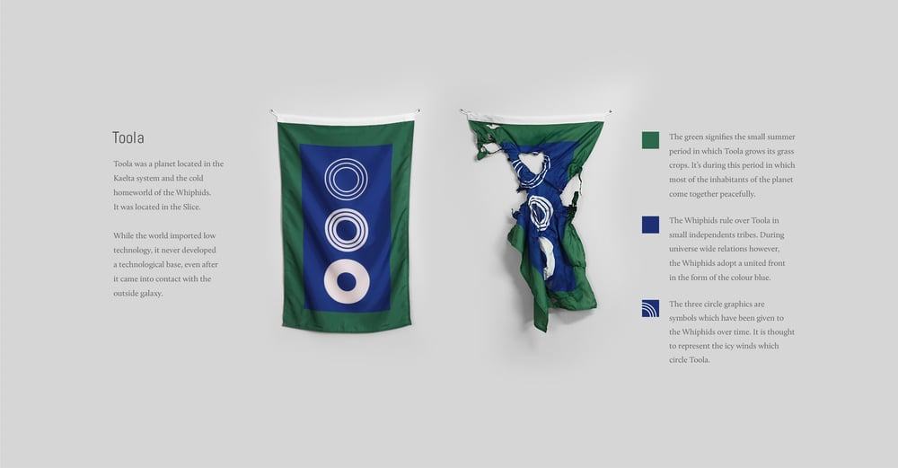 Toola flag by Scott Kelly