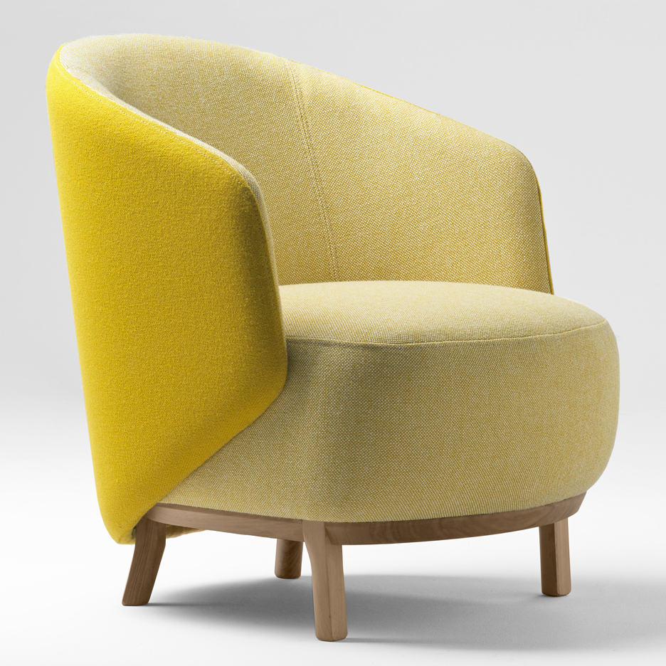 Concha armchair by Samuel Accoceberry for Bosc