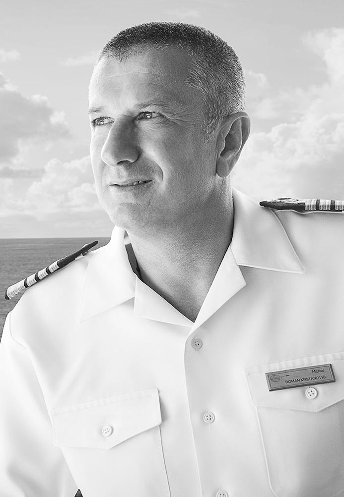 Master Captain Roman Krstanovic