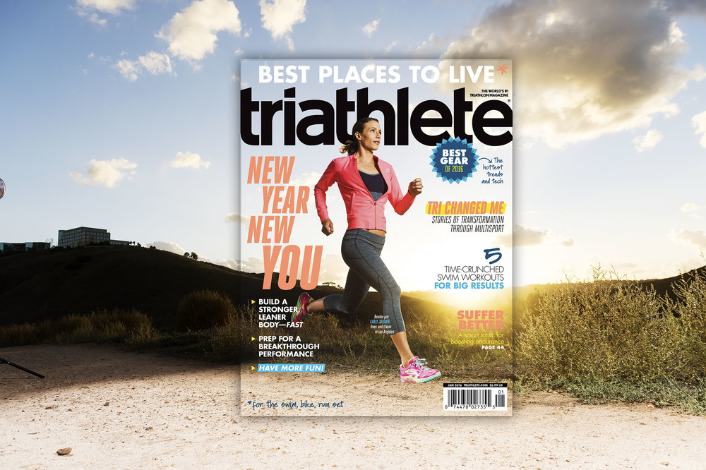 Triathlete Magazine January 2016