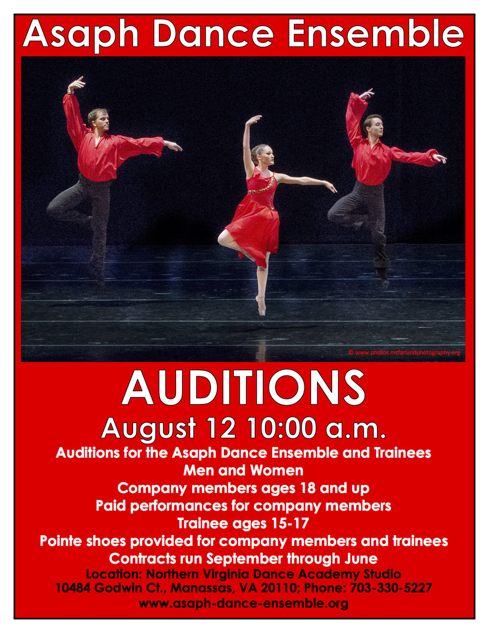 Audition Flier 1