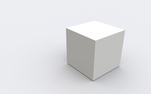 a cube, again