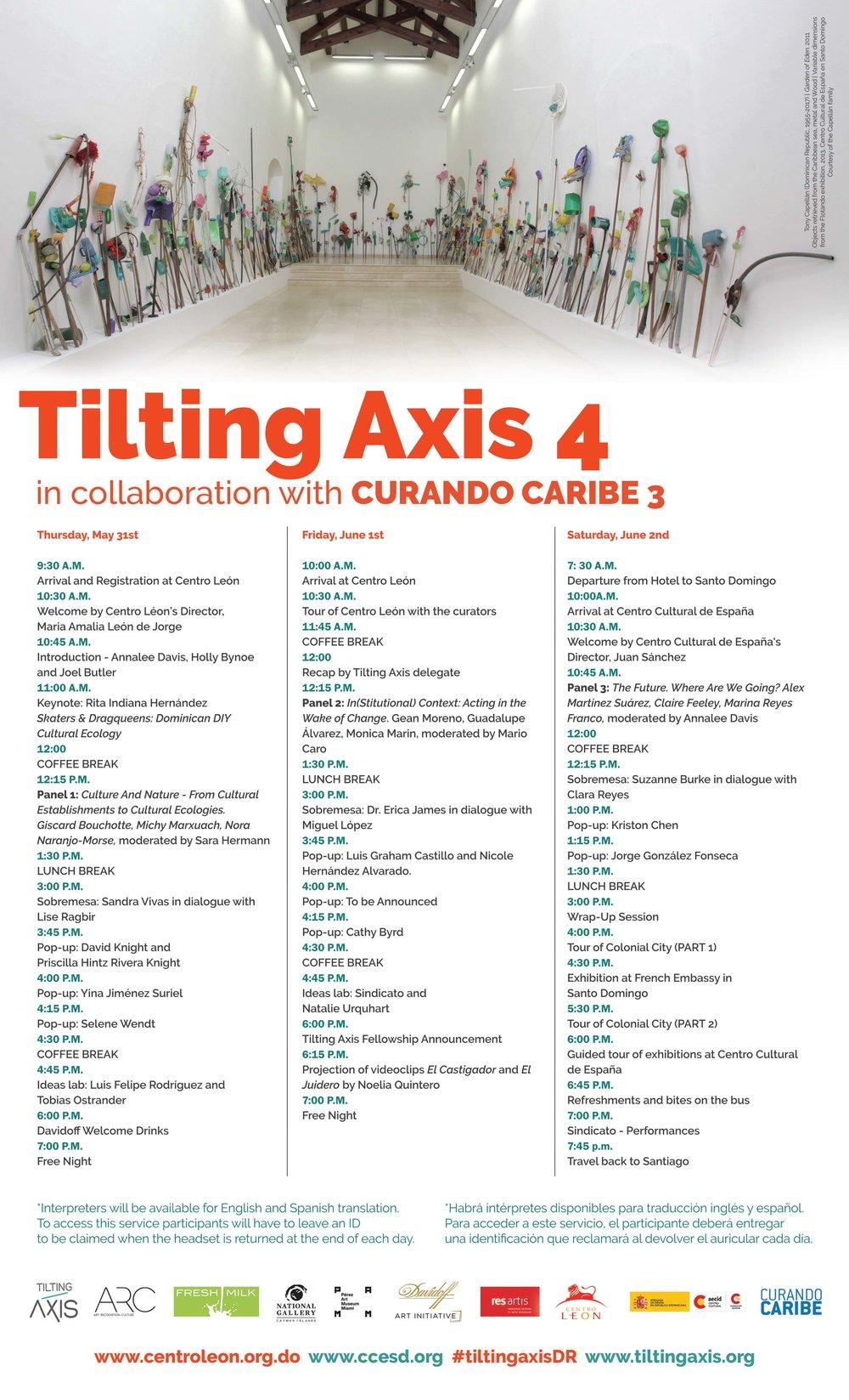 fbd63567 Tilting Axis 2018 Programme