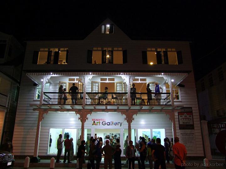 The Readytex art gallery's new building.