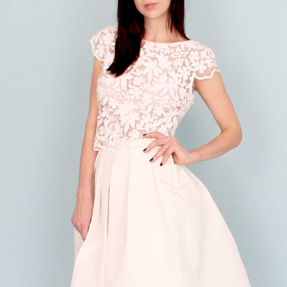 "Dahl ""Tulipe"" Top and Skirt. Photo courtesy of www.dahlnyc.com"