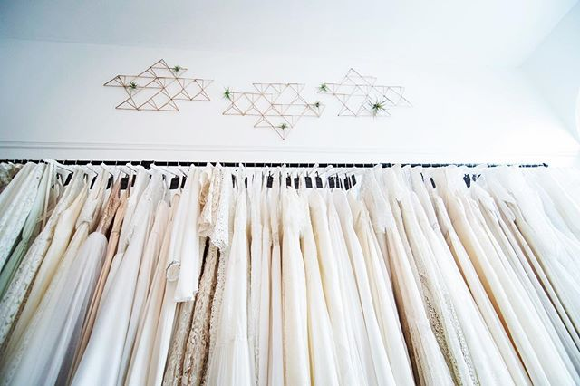 Our EPIC Sample Sale continues through tomorrow—and we still have many of our most popular styles to chose from! Don't miss out! No appointment necessary—first come, first served from 11am-6pm. *Just a reminder, this sample sale isn't for first-time shoppers. This is for brides on a tight budget and who are short on time. If you haven't been dress shopping before, it's best to schedule a private, 1:1 appointment.*