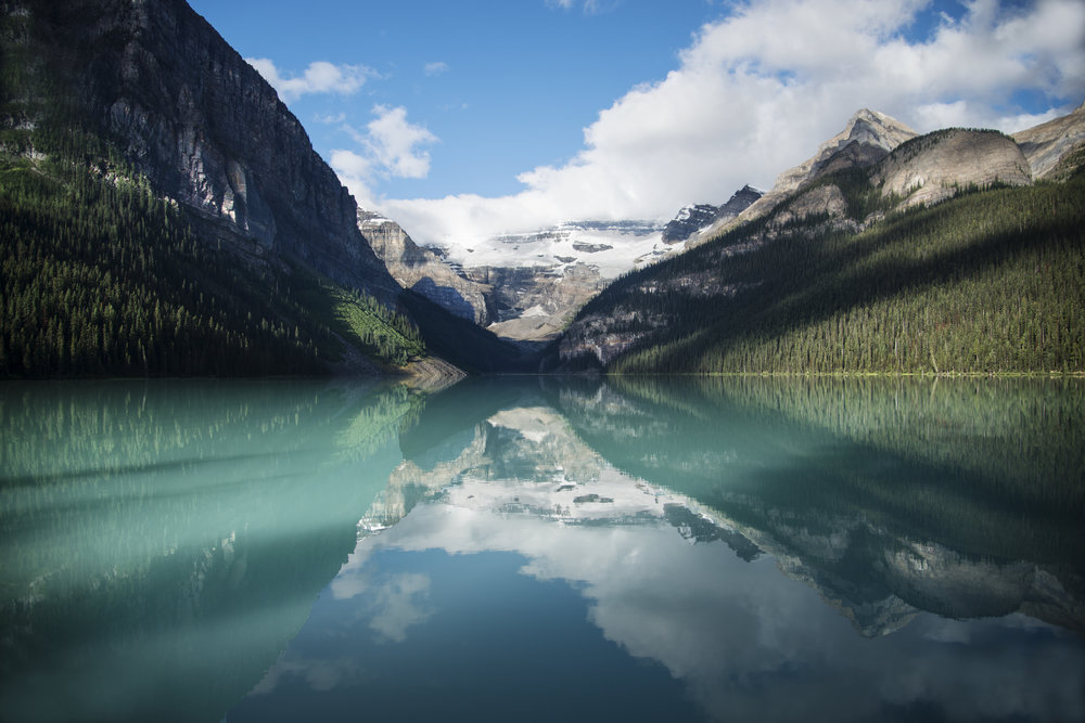 Lake Louise at Sunrise in Alberta.jpg