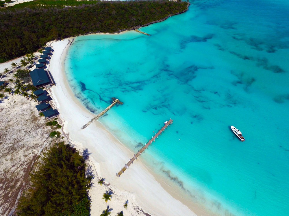 Treasure Cay Beach From the Drone in Bahamas.jpg