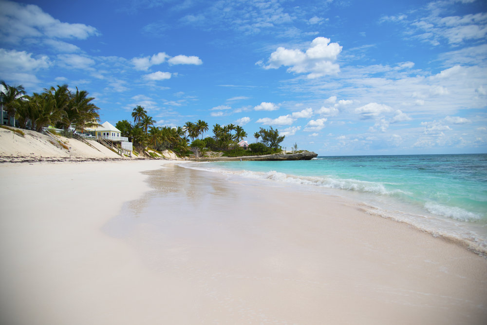 Clear and Blue Water on Beach in Bahamas.jpg
