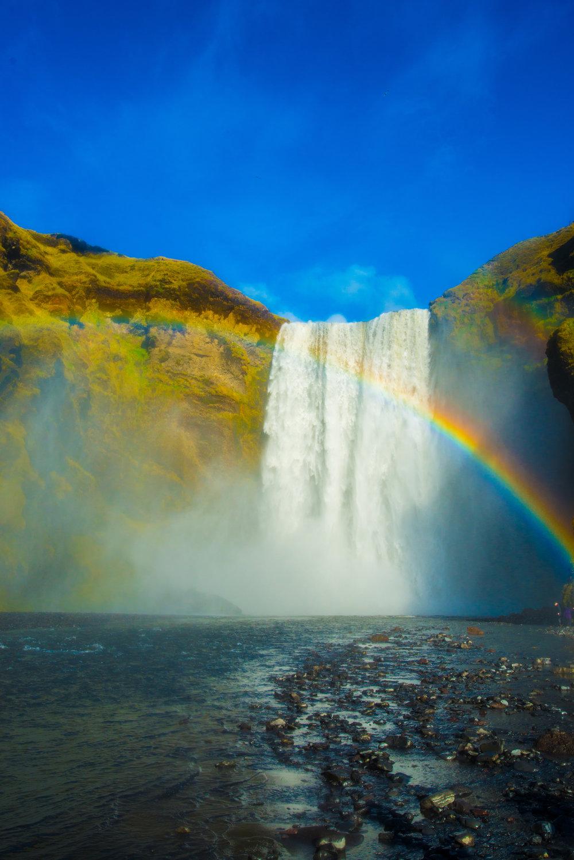 Skogafoss Rainbow Waterfall Iceland.jpg