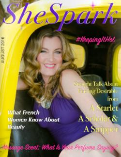 SheSpark Magazine  , 8/16