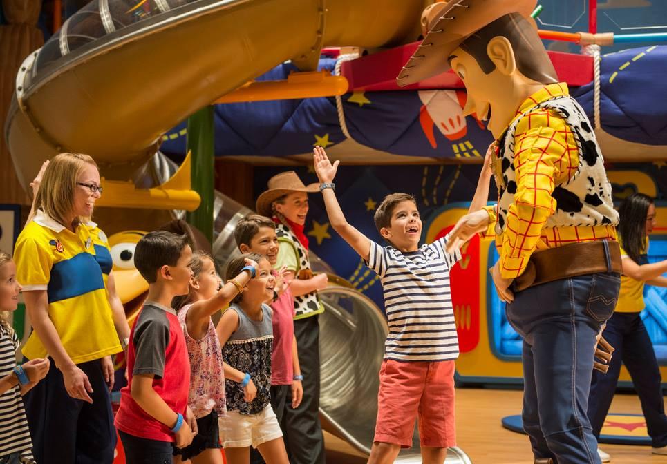 Kids Club on Disney Cruise Line