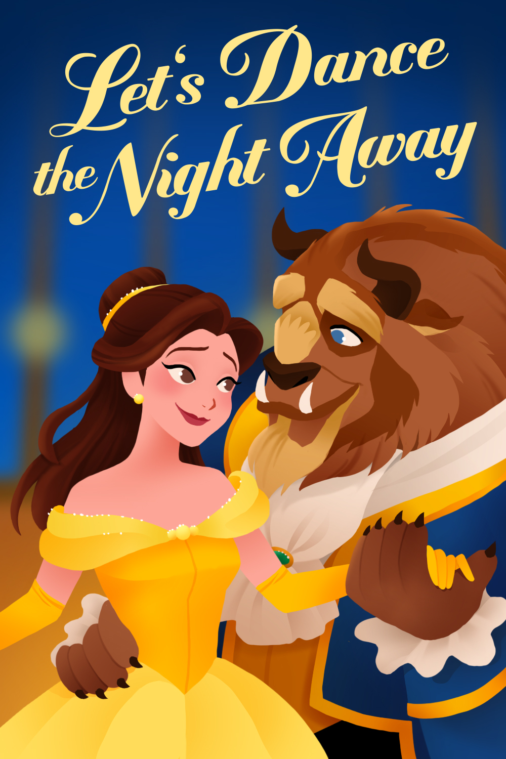 Beauty and the Beast Valentine