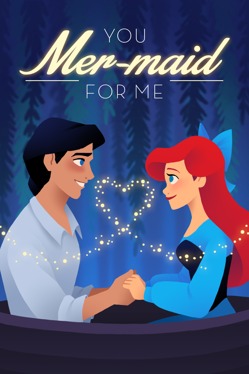 Little Mermaid Valentine