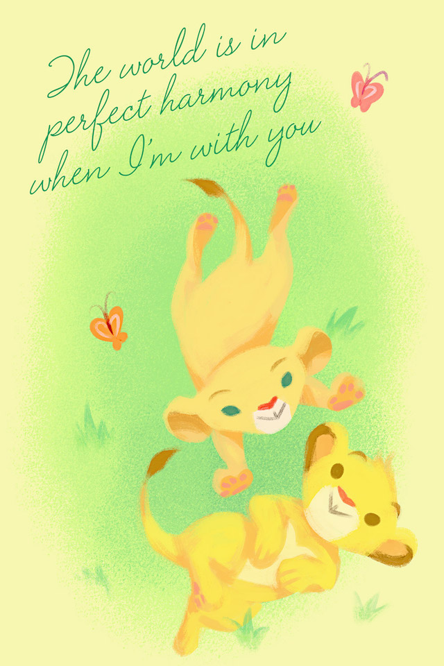 Lion King Valentine