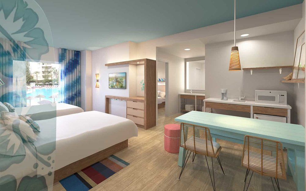 2-bedroom Suite at Surfside Inn and Suites (©Universal