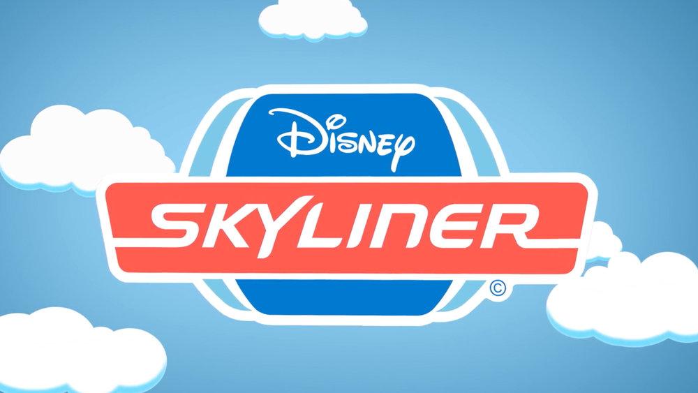 Disney Skyliner gondola system logo