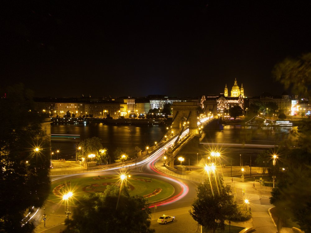 A Busy Night in Budapest