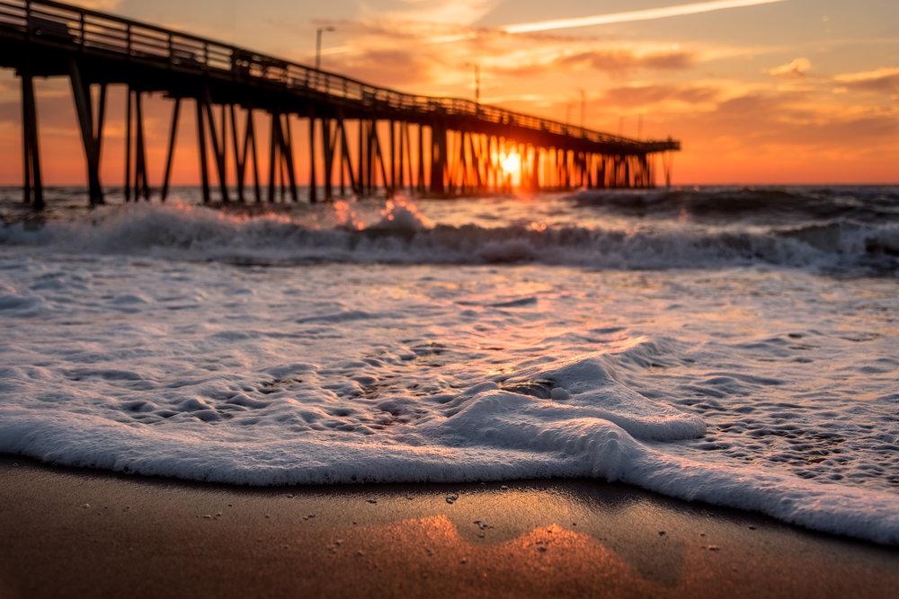 Sea Foam Sunrise