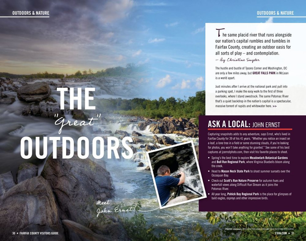 Page 31 of the 2019 Fairfax County Visitor's Guide