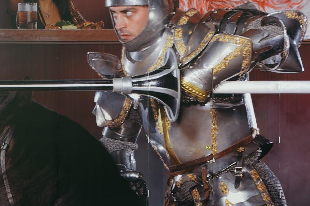 Knight with Door, Excalibur Hotel,   2014