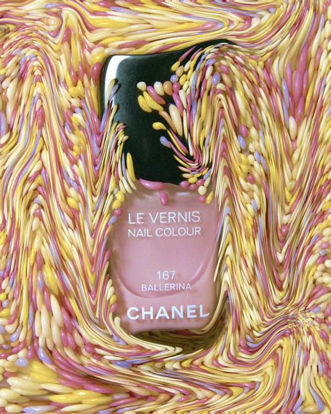 Ballerina is the creamy soft pink nail colour for spring 2014 by  CHANEL LE VERNIS  line.