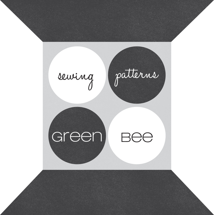 Green Bee Design and Patterns