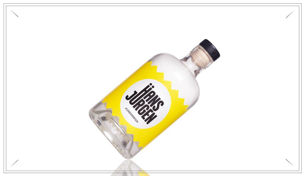 NO117 - Hans Jürgen Gin 0,7l - Ausgewogen destillierter London Dry Gin aus dem Augsburger Land.Gebrannt in eigener Manufaktur.Preis p. Liter 50,- €35,- €