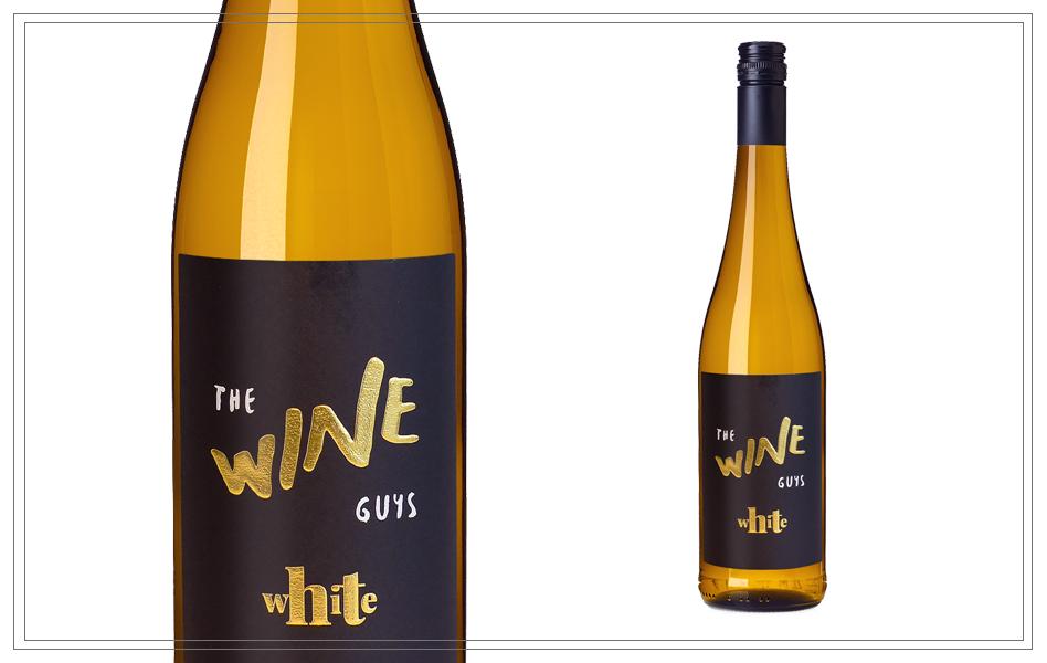 WM117 - The Wine Guys White Cuvée 0,75l - Weissburgunder, Chardonnay 12,50%Frisch, Frech und Cremig. Passt herrvorragend zu sommerlichen Speisen und moderner Asiatischer Küche.Preis p. Liter 15,86€11,90 €