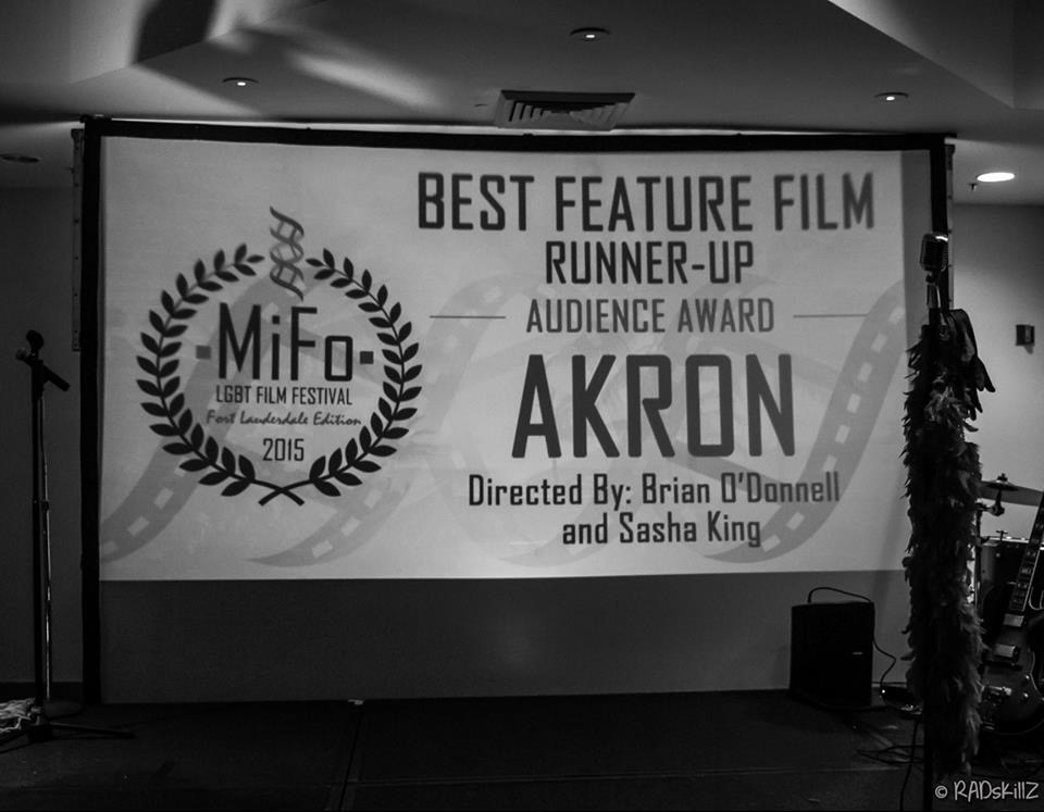 So proud to win Best Feature Film Runner-Up Audience Award! (photo credit: RADskillZ)