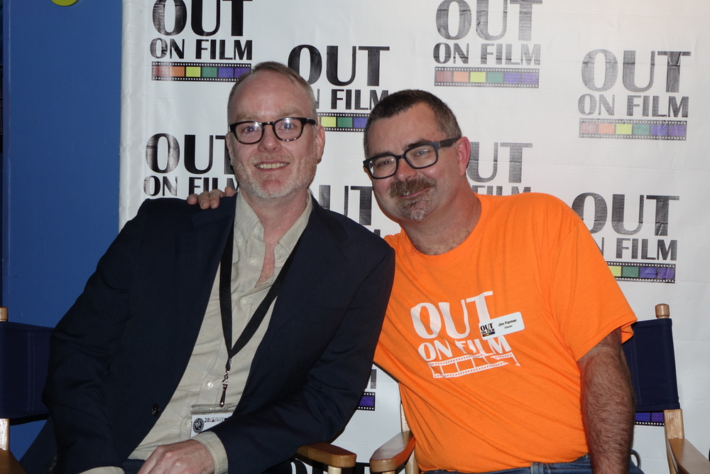 Brian O'Donnell and Jim Farmer, Out on Film Festival Director