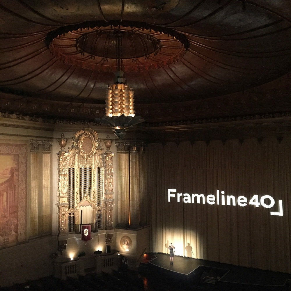 Inside the beautiful Castro Theater