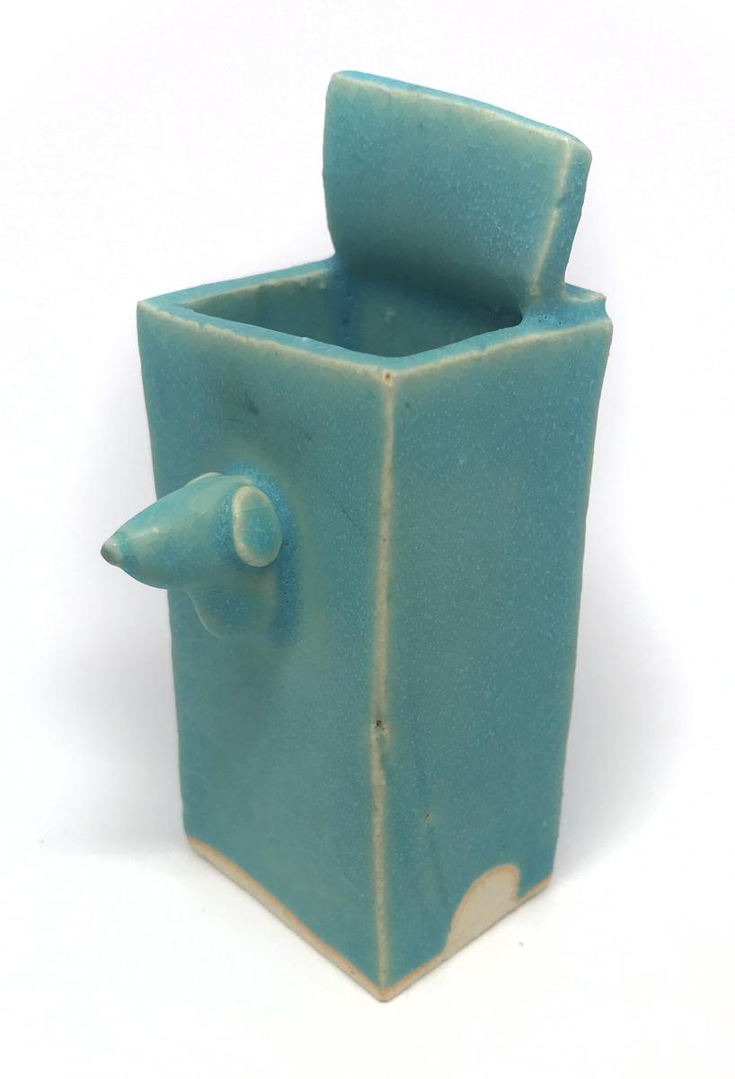 Yasushi Mizuno bud vase - Sara Japanese Pottery