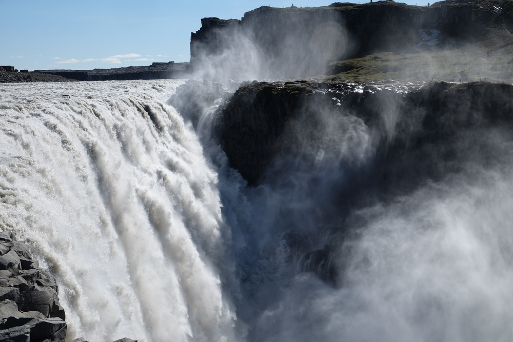 Dettifoss, Iceland. The most powerful waterfall in Europe (http://www.world-of-waterfalls.com/iceland-dettifoss.html)