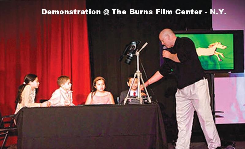 N.Y. Burns Film Center Demonstration