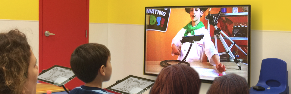 7-12 year olds watch the Animation Chefs reveal secret animation recipes, and then make the animation on their tablets.