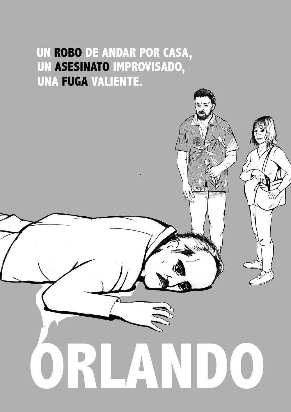 """*EN DESARROLLO (2016) ORLANDO (El blues del hombre normal) Comedia / Crimen / Drama VO: Castellano El improvisado crimen de Damián Rodríguez está destinado a llevarle a la cárcel. Su alter ego, el cantante Orlando """"Brown"""" Junior, y su valiente esposa, Núria, lucharán para salvarse Producido por SATURNO FILMS & SETMÀGIC AUDIOVISUALS Director:ERIC BOADELLA Guión:ERIC BOADELLA & DANIEL CASTRO Rodaje: OCTUBRE 2016"""