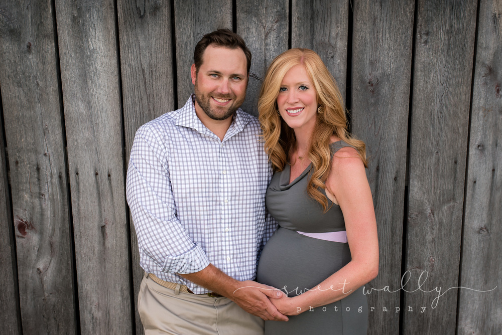 Couples Maternity Portrait | Maternity Photographer in Nashville | Sweet Wally Photography