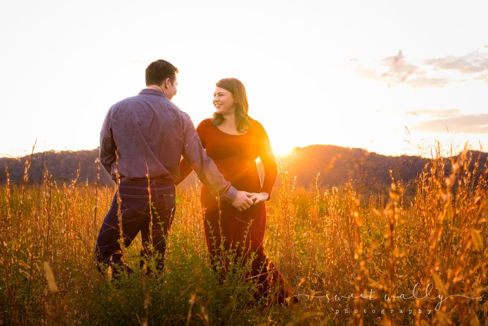 Dancing into the sunset | Sweet Wally Photography | Nashville Maternity Photographer
