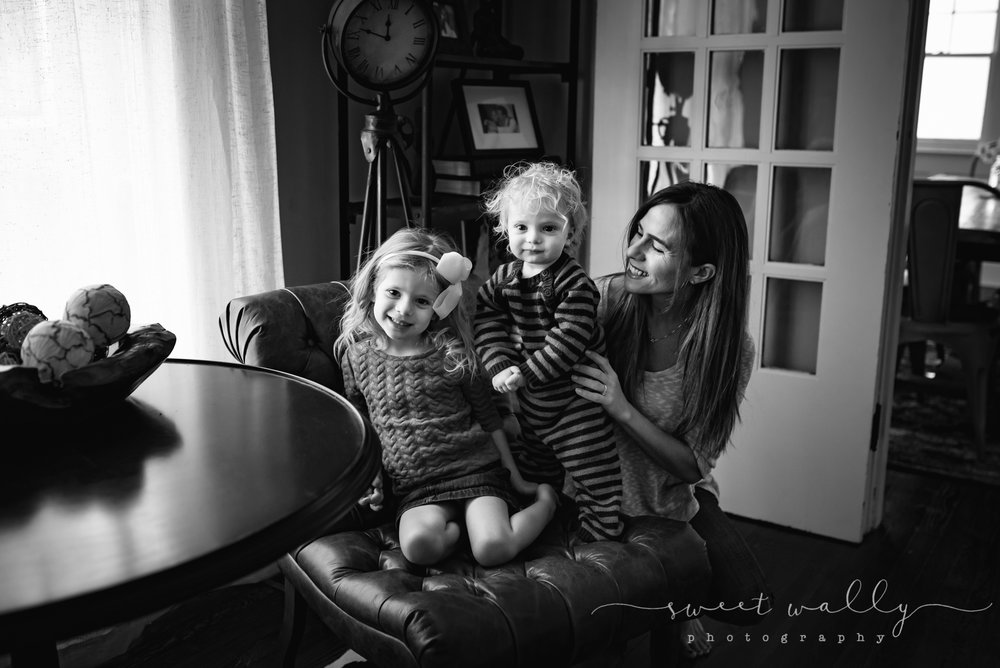The three amigos | Indoor Lifestyle Photography | Sweet Wally Photography in Nashville, TN