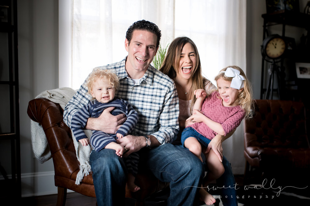 Silly snuggles! | Family Lifestyle Session | Sweet Wally Photography | Nashville, TN
