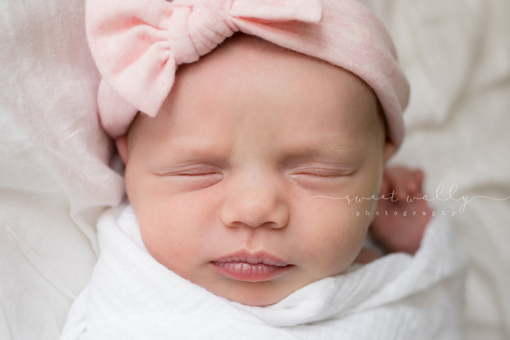 Sweet baby girl | Nashville Newborn Photographer | Sweet Wally Photography