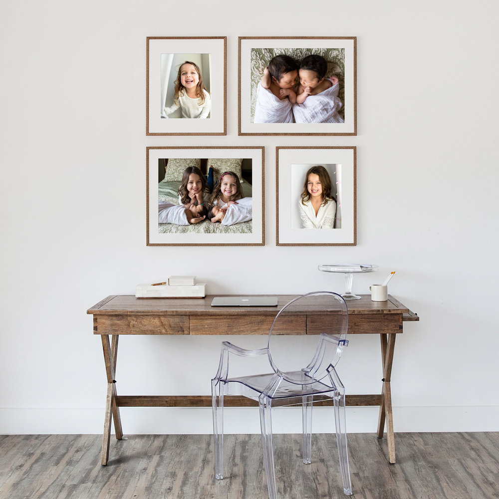 wall collage over desk_pendelton girls.jpg