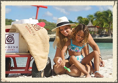 MORENA ECO RESORT  Morena is the only Eco Resort in Curacao to have proudly received both a golden 'Green Key Award' and a golden 'Travelife Award', from two internationally recognized environmental certifying organizations.   http://www.morenaresort.com/