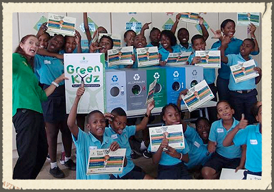 GREENKIDZ CURACAO  helps children from Curacao to make their living and school environment cleaner, greener and healthier through awareness, education and empowerment. We devote much attention to he issues of litter and waste disposal, recycling, creating healthy living environments for humans and animals.   https://www.facebook.com/Greenkidzcuracao/timeline